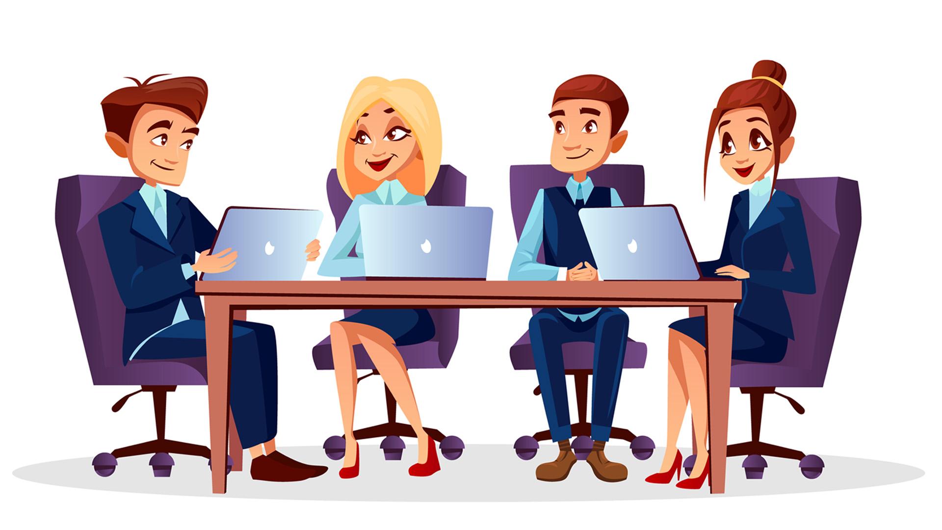 4 salas de reunião